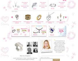 #7 for Jewellery Store HomePage by nupurghosh2