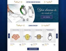 #3 for Jewellery Store HomePage by zaadi