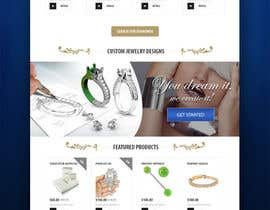 #4 for Jewellery Store HomePage by zaadi
