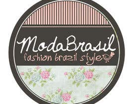 #24 for Design a Logo for ModaBrasil - fashion  Brazil Style af gabrielasaenz