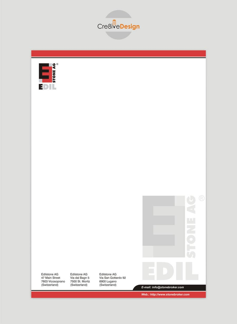 #23 for Design of the letterhead for a construction company by keshavpatel