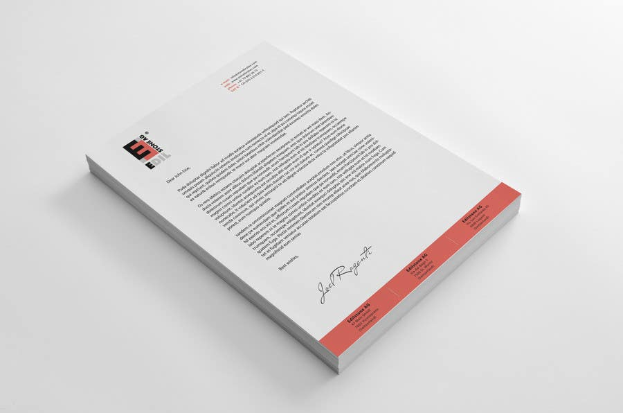 #30 for Design of the letterhead for a construction company by sashadesigns
