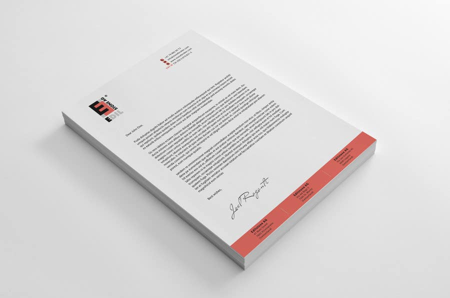 #31 for Design of the letterhead for a construction company by sashadesigns