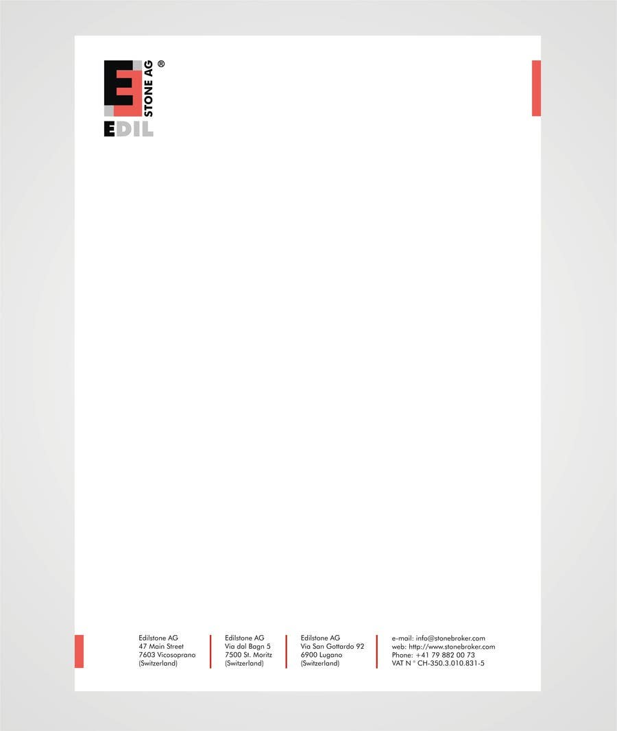 #36 for Design of the letterhead for a construction company by shobbypillai