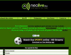 #32 untuk LOGO DESIGN FOR A STREAMING SPORT SITE oleh commharm