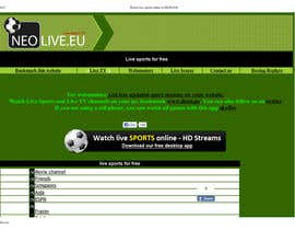 #35 untuk LOGO DESIGN FOR A STREAMING SPORT SITE oleh shailuvcreation