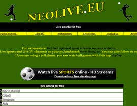 nº 28 pour LOGO DESIGN FOR A STREAMING SPORT SITE par Kkeroll