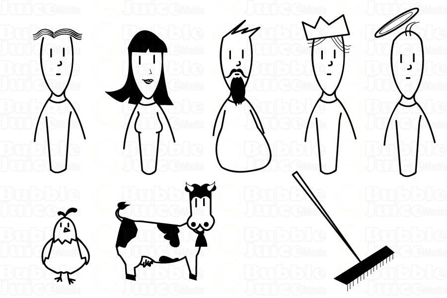 Inscrição nº                                         3                                      do Concurso para                                         Simple Cartoon Character development