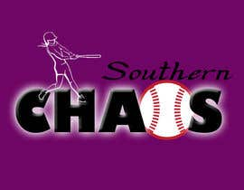 #63 para Design a Logo for Southern Chaos softball team por banryuu