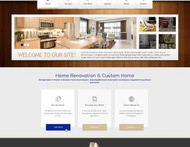 nº 2 pour Design a Website Mockup for Western/Cowboy sports med - AND - Renovations par JosephNgo