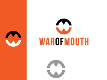 #157 for Design a Logo for WarOfMouth by rraja14