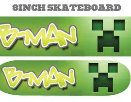 #18 for I need some Graphic Design for Son Custom made Skatebaord af Zeshu2011