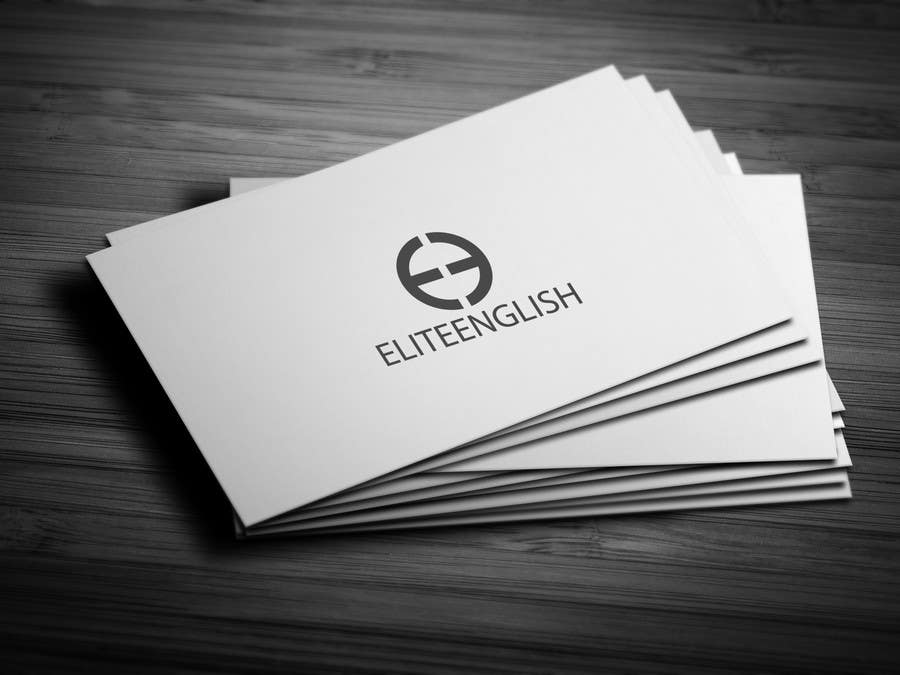 #160 for Design a Logo for Elite English by skrDesign21