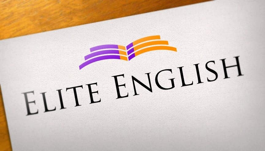 #114 for Design a Logo for Elite English by kertarajasa08