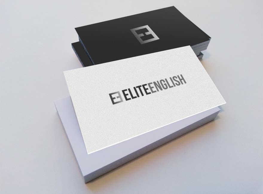 #99 for Design a Logo for Elite English by davidhughes88