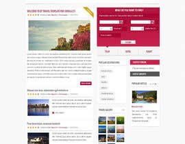 youss123 tarafından Design a Wordpress Site for Travel Blog için no 16