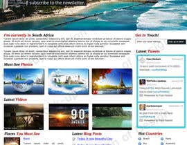 zeeshanarshad tarafından Design a Wordpress Site for Travel Blog için no 3