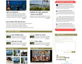 SubodhStha tarafından Design a Wordpress Site for Travel Blog için no 8