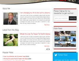 #14 for Design a Wordpress Site for Travel Blog af dilip08kmar
