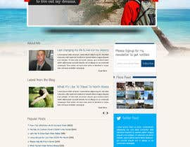 #20 for Design a Wordpress Site for Travel Blog af dilip08kmar