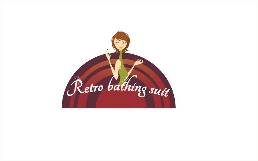 Bài tham dự cuộc thi #                                        33                                      cho                                         Design a Logo for Retro Bathing Suit website and print