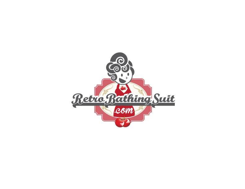 Bài tham dự cuộc thi #                                        25                                      cho                                         Design a Logo for Retro Bathing Suit website and print