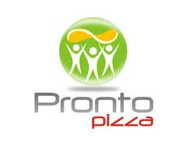 #209 para Logo Design for pronto pizza web site por santarellid