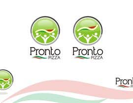 #117 para Logo Design for pronto pizza web site por santosrodelio