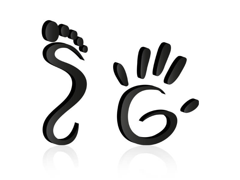 Bài tham dự cuộc thi #16 cho Design a Logo using abstract footprint shape