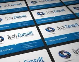 nº 31 pour Design some Business Cards for Tech Consult par AmrenDesign