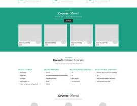 pawanjangirjpr tarafından Redesign of courses directory Website homepage için no 23