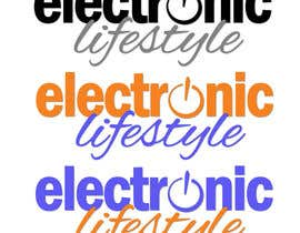 #23 para Logo Design for Electronic Lifestyle por GraphiliaPrints
