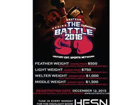 #15 for Design a Flyer for my Boxing tournament Easy money! by CorneliaTeo