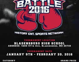 #10 for Design a Flyer for my Boxing tournament Easy money! by arekkusakkusa