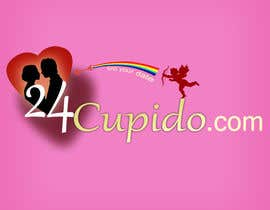 #27 for Logo design for 24CUPIDO.COM - repost by widya83