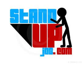#43 for Design a Logo for Stand-UpJob.com af antrikshgoel