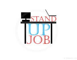#73 for Design a Logo for Stand-UpJob.com af antrikshgoel