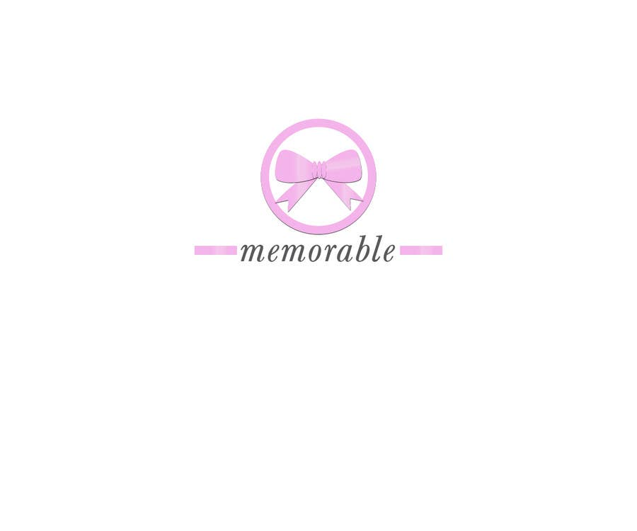 "Konkurrenceindlæg #4 for Design logo for ""Memorable Wedding.me"""