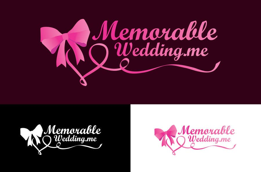 "Konkurrenceindlæg #9 for Design logo for ""Memorable Wedding.me"""