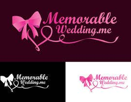 "#9 untuk Design logo for ""Memorable Wedding.me"" oleh alissonvalentim"