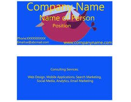 nº 36 pour Create Business Cards for Technology Company par shoneshaji333