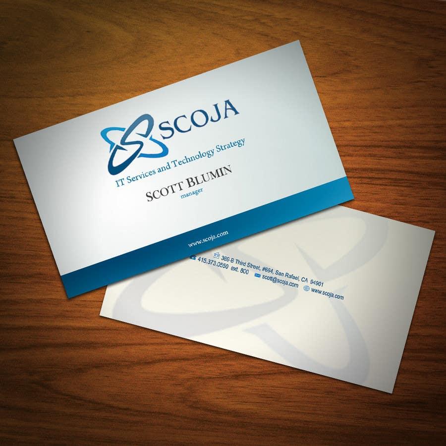 Bài tham dự cuộc thi #                                        137                                      cho                                         Business Card Design for SCOJA Technology Partners
