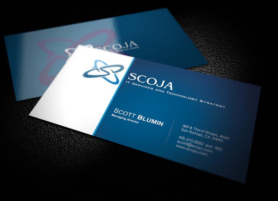 Bài tham dự cuộc thi #                                        316                                      cho                                         Business Card Design for SCOJA Technology Partners