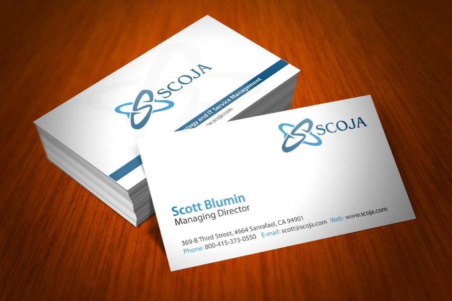 Bài tham dự cuộc thi #                                        149                                      cho                                         Business Card Design for SCOJA Technology Partners