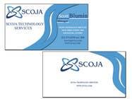 Graphic Design Konkurrenceindlæg #29 for Business Card Design for SCOJA Technology Partners