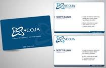 Bài tham dự #133 về Graphic Design cho cuộc thi Business Card Design for SCOJA Technology Partners