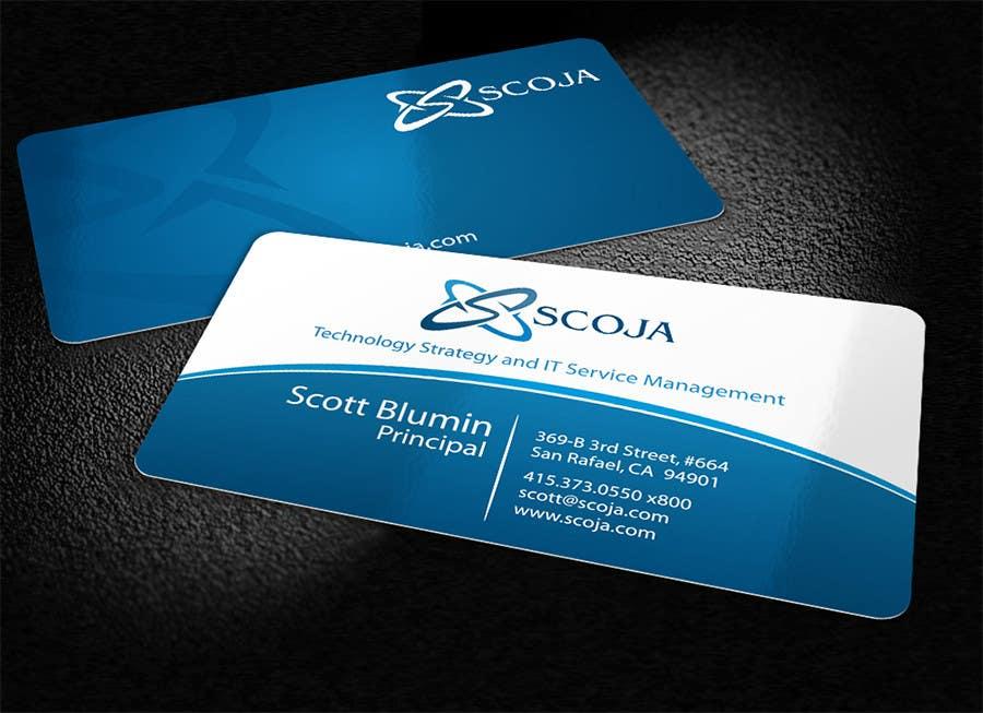 Bài tham dự cuộc thi #                                        304                                      cho                                         Business Card Design for SCOJA Technology Partners