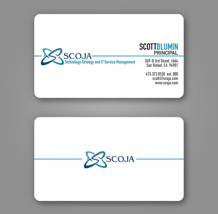 Bài tham dự cuộc thi #                                        355                                      cho                                         Business Card Design for SCOJA Technology Partners