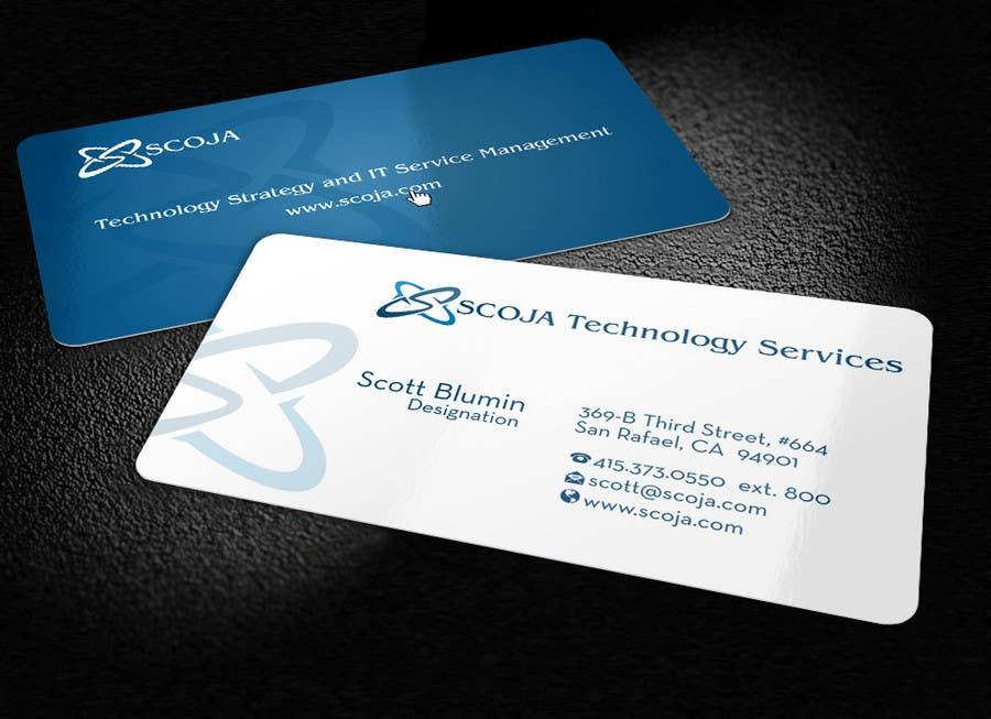 Bài tham dự cuộc thi #                                        101                                      cho                                         Business Card Design for SCOJA Technology Partners