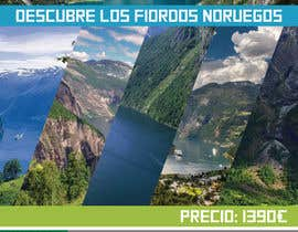 #5 untuk Poster  design for trips around Norway oleh JuanRivasDesign